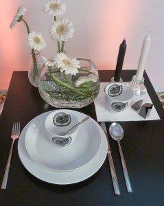 LoreLager-Tischdekoration
