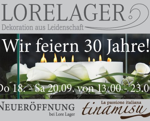 30 Jahre Lore Lager