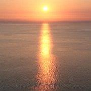 Sonnenuntergang - Betriebsurlaub