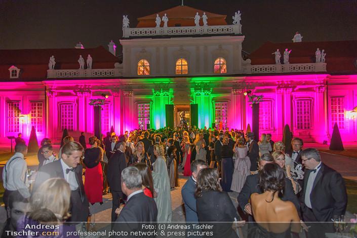 Grande Bal Masqué, Schloss Belvedere, Wien, 12.9.2015