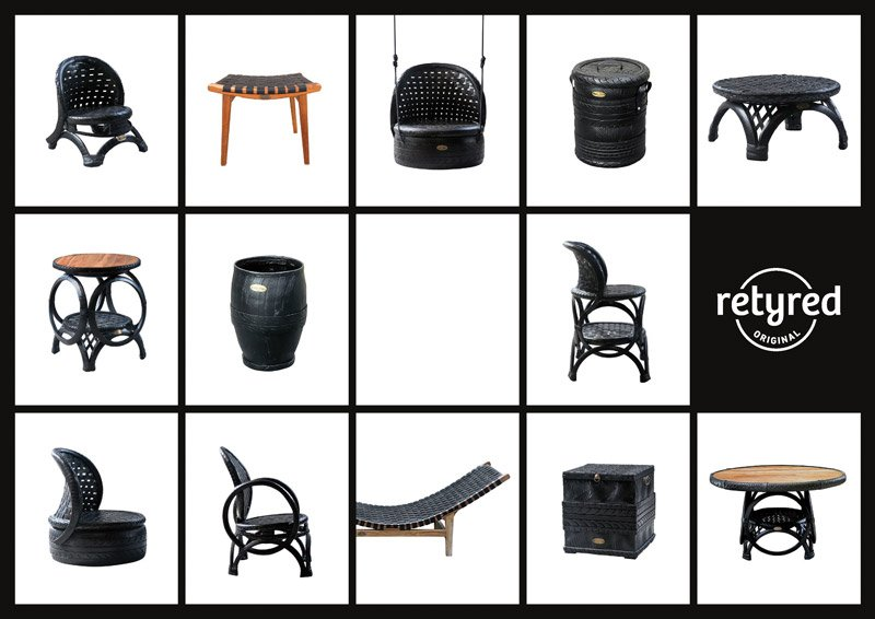 retyred products sample
